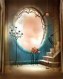 Elegante ruimte met een venster Royalty-vrije Stock Foto's