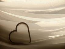 elegante serce Obrazy Stock