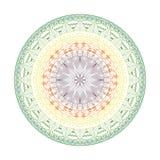 Elegante Spitzen- Mandala, rundes Spitzemuster, Kreishintergrund mit vielen Details Lizenzfreie Stockbilder