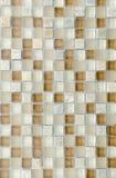 Elegante steenmuur van kleine vierkante delen Royalty-vrije Stock Fotografie
