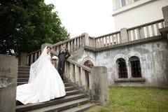 Elegante stilvolle junge Paare Lizenzfreie Stockbilder