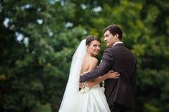 Elegante stilvolle junge Paare Stockfoto