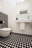 Elegante Toilette Stockfoto