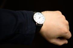 Elegante Uhr Stockbilder