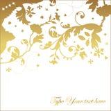 Elegante uitnodigingskaart Stock Fotografie