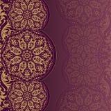 Elegante uitnodigingskaarten Vector illustratie Royalty-vrije Stock Foto