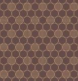 Gouden naadloos patroon. Stock Foto's