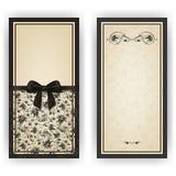 Elegante Vektorschablone für Luxuseinladung, Stockbild