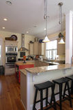 Elegante verzierte Küche Lizenzfreie Stockbilder