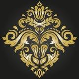 Elegante Verzierung in der klassischen Art Stockbild