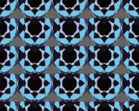 Elegante Verzierungs-geometrische Mandala lizenzfreies stockbild