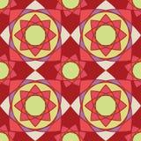 Elegante Verzierungs-geometrische Mandala lizenzfreie stockfotos