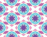 Elegante Verzierungs-geometrische Mandala Lizenzfreies Stockfoto