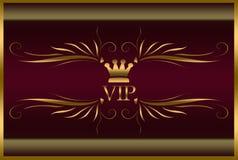 Elegante VIP-Karte Stockfoto