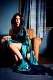 Elegante vrouw royalty-vrije stock foto's
