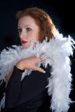 Elegante vrouw Royalty-vrije Stock Foto