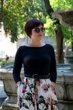 Elegante vrouw royalty-vrije stock afbeeldingen