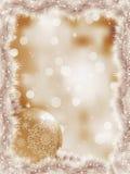 Elegante Weihnachtsschneeflocke-Baumzweige. ENV 8 Stockfoto