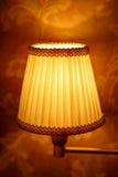 Elegante Weinleseklassikerlampe stockbild
