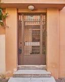 Elegante zeitgenössische Tür Stockbilder