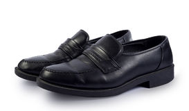 Elegante zwarte schoenen Stock Foto's