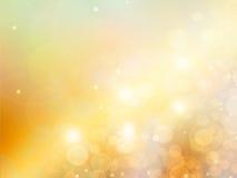 Eleganter abstrakter Goldhintergrund Lizenzfreie Stockfotos