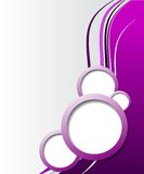 Eleganter abstrakter purpurroter Hintergrund Stockfoto