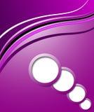 Eleganter abstrakter purpurroter Hintergrund Stockbild