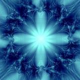 Eleganter blauer Stern-Hintergrund Stockbilder