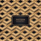 Eleganter dekorativer Musterhintergrund in der Goldfarbe stockbild