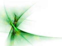 Eleganter grüner Blumenschleier Stockbild