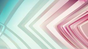 Eleganter Hintergrund Entwurf der grafischen Kunst Illustration Rosa-Aqua Line Background Beautifuls lizenzfreie abbildung