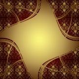 Eleganter Hintergrund mit Gold Lizenzfreies Stockbild