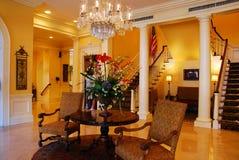 Eleganter Innenraum in Charleston lizenzfreie stockbilder