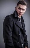 Eleganter junger gutaussehender Mann. Stockbilder