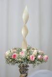 Eleganter Kerzenhalter Lizenzfreies Stockbild