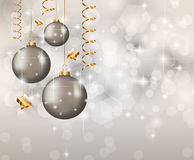 Eleganter klassischer Weihnachtshintergrund stock abbildung