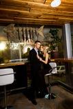Eleganter Mann und Frau Lizenzfreie Stockfotografie