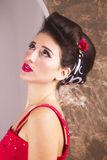 Eleganter Pinup Stockfotos