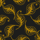 Eleganter Retrostil lässt nahtloses Muster ENV 10 Stockbilder