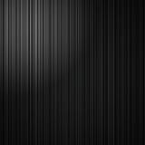 Eleganter schwarzer gestreifter Hintergrund mit abstrakten vertikalen Linien und weißem Eckscheinwerfer Stockfotografie