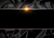 Eleganter schwarzer Hintergrund Lizenzfreie Stockfotografie