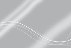 Eleganter silberner Technologie-Hintergrund Lizenzfreies Stockbild