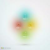 Eleganter unscharfer Farbhintergrund für Ihren Inhalt Lizenzfreies Stockbild