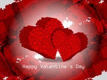 Eleganter Valentinstaghintergrund. Lizenzfreie Stockfotos