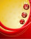 Eleganter Weihnachtshintergrund Stockfotografie