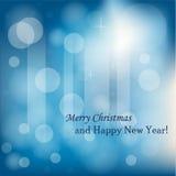Eleganter Weihnachtshintergrund Lizenzfreie Stockfotos