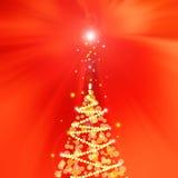 Eleganter Weihnachtshintergrund Lizenzfreies Stockfoto