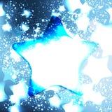 Eleganter Weihnachtshintergrund mit Schneeflocken Lizenzfreie Stockbilder