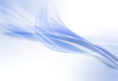 Elegantes blaues und weißes Hintergrunddesign lizenzfreie stockbilder